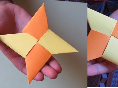 How To Make A Star Using Paper Step By Step - DIY Star Paper