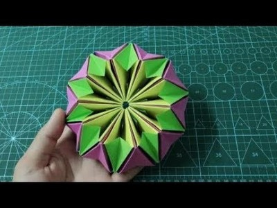 How to make an Origami Kaleidoscope | Easy Origami Tutorial
