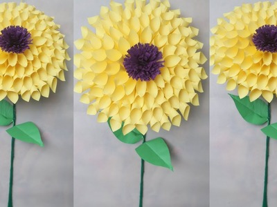 How to Make Beautiful Flower with Paper - Making Paper Flowers Step by Step    DIY Paper Flowers