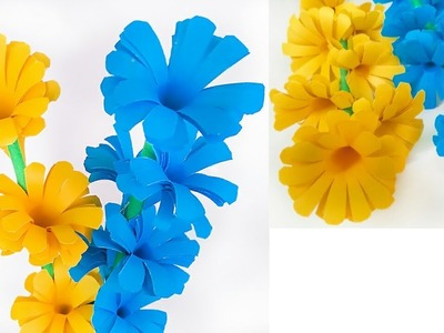 How to Make Beautiful Paper Stick Flower