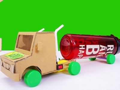 How To Make Container Truck for Kids