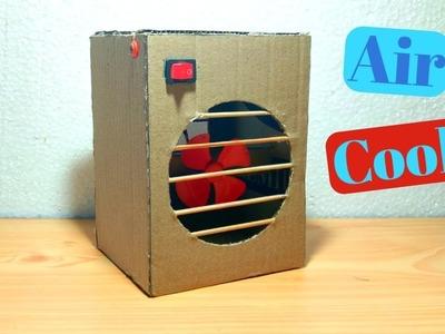 How to make cooler   Motor Cooler   Air Cooler