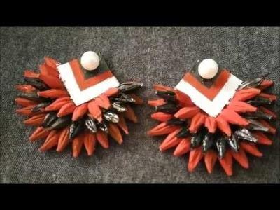 How To Make Grain Jewellery? || Handmade Earring Using Food Grains