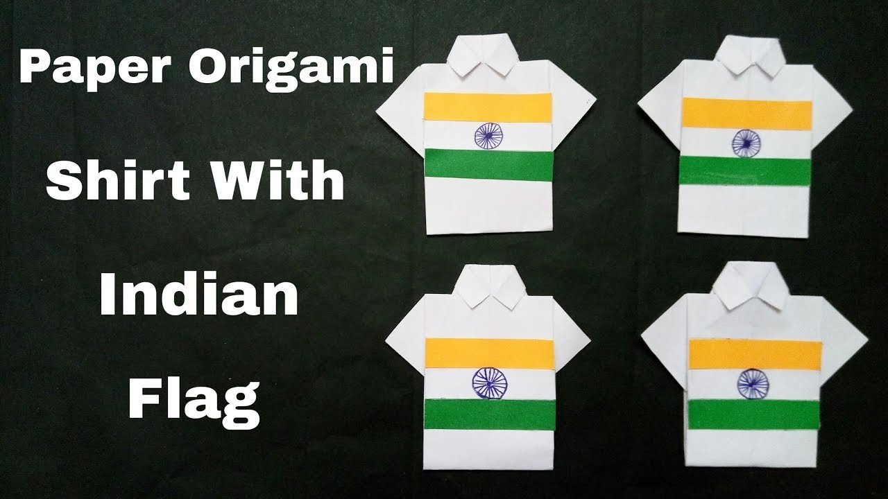 Origami Shirt Tutorial - Make an Origami Shirt and Tie   The ...   720x1280