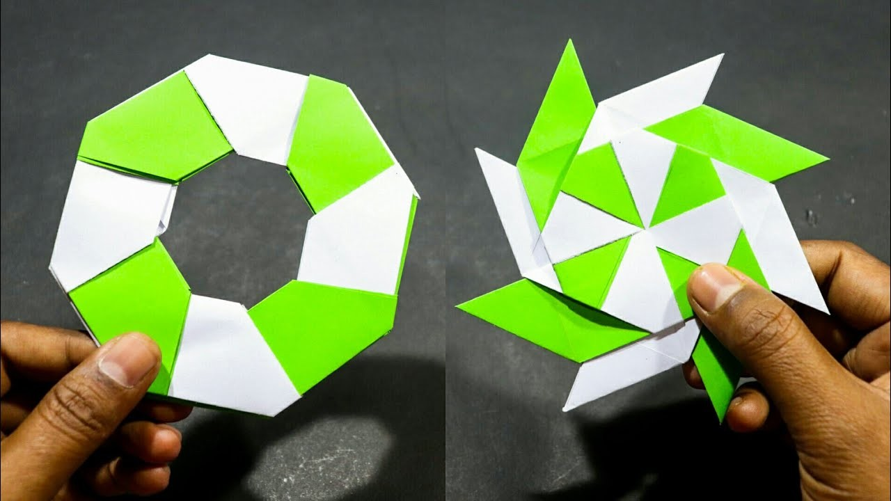 How to Make a transforming origami spikey ball « Origami ... | 720x1280