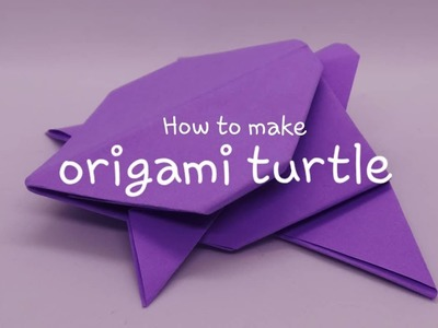 How to Make an Easy Origami Turtle | 300x400
