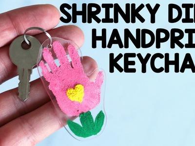 How to Make Shrinky Dinks Hanprint Flower Keychain