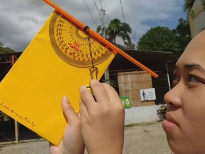 HOW TO MAKE & USE A CLINOMETER:Group 2-Einstein