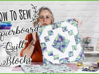How To Sew Chequerboard Quilt Blocks