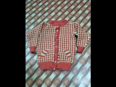 New sweater design knitting pattern part4