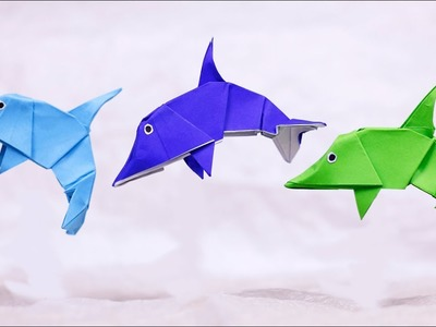 15 Cute Crafts for Dolphin Lovers   300x400