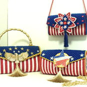 Red,White & Blue Patriotic Purse/Handbag