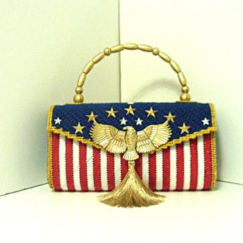 Red,White & Blue Patriotic Purse/Handbag