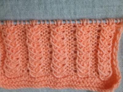 Single Color Knitting Pattern no. 157(हिंदी)  Hindi