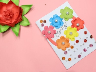 Sorry Greeting Card Idea   How to Make Beautiful Handmade Sorry Card   Complete Tutorial   Girl.Boy