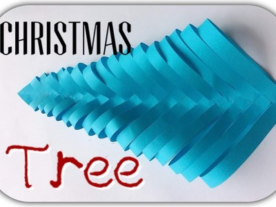 3D Paper Christmas Tree | How to Make a 3D Paper Tree DIY Tutorial