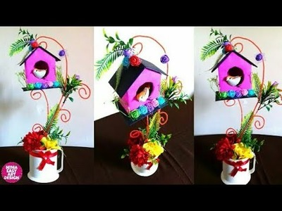 BEST OUT OF WASTE  How to Recycle waste wire DIY art and craft mimaeasyartdesign