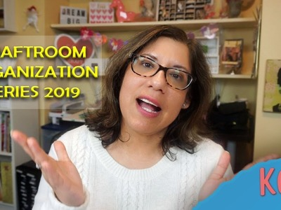 Craftroom Organization Series 2019   Storing Clear Stamps and Paper Flowers