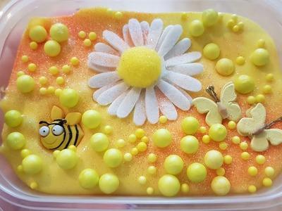 DIY Bee Slime ~ How to make pretty slime