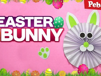 DIY: Easter Bunny   How to Make a Paper Bunny   Easy Easter Crafts for Kids