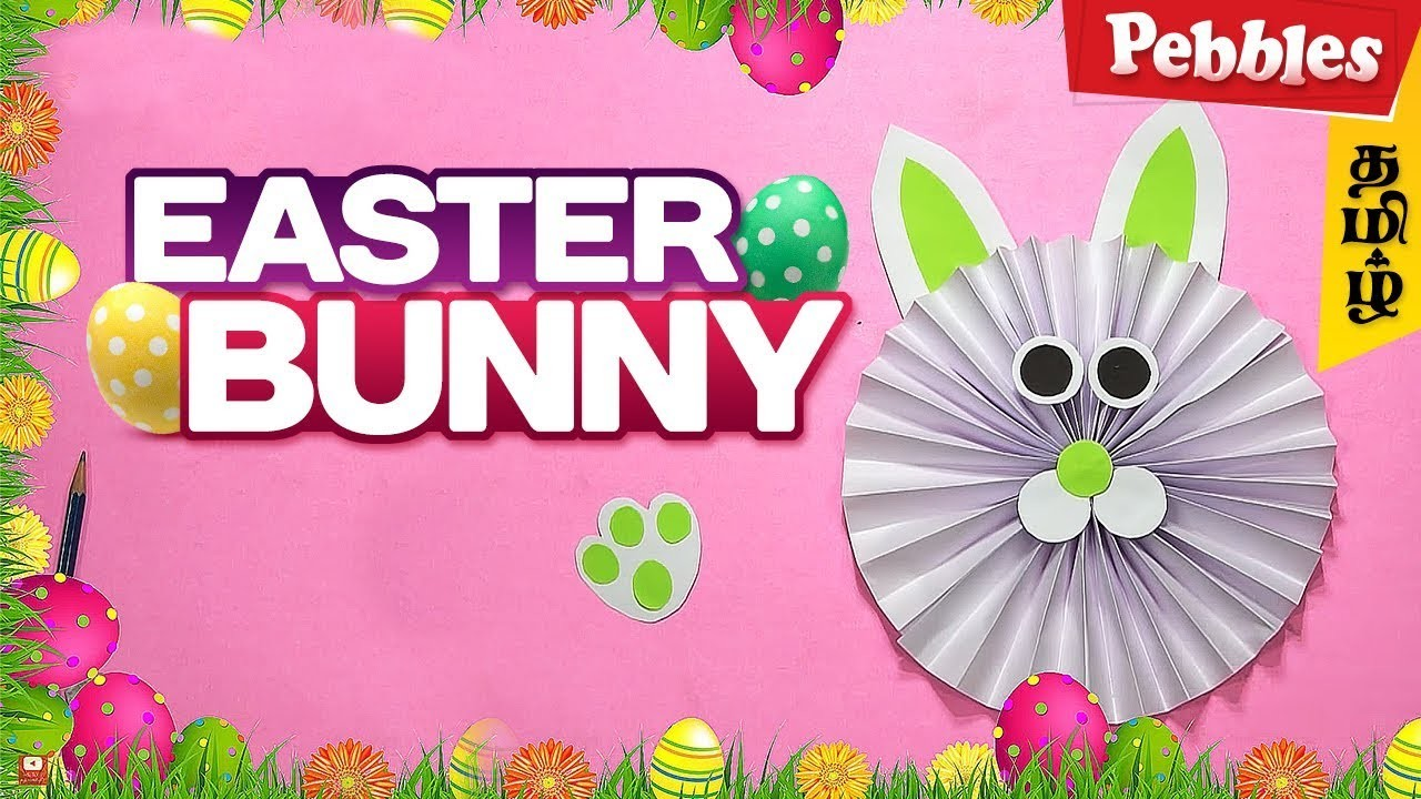 DIY: Easter Bunny | How to Make a Paper Bunny | Easy Easter Crafts for Kids