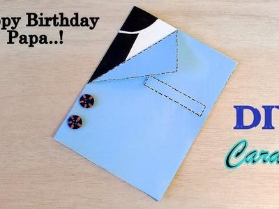 DIY Handmade Birthday Card for Papa   How to make Birthday Card for Papa.