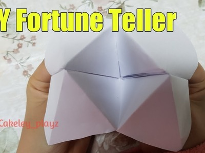 DIY How To Make A Paper Fortune Teller