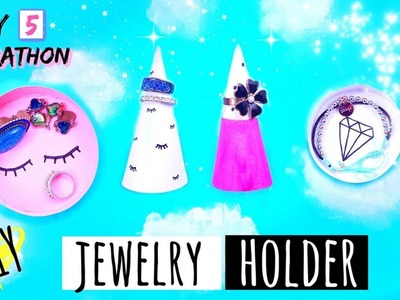 DIY JEWELRY HOLDER   Awesome Crafts To Do With Paper - DAY 5