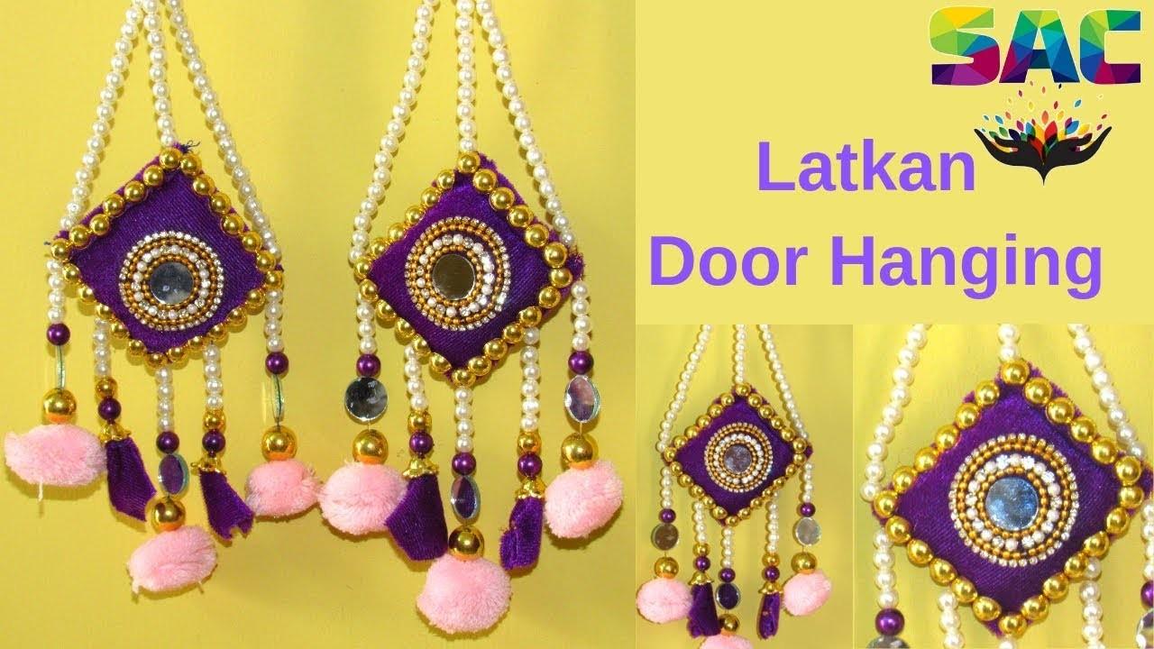 DIY Latkan | Door Hanging | Wall Hanging | DIY Lahnga Latkan | Bridal Jwellery | Best Out of Waste