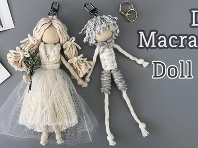 DIY Macrame Doll #2 For Wedding. 마크라메 인형 #2