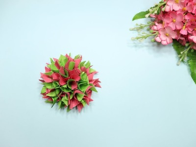 DIY Paper Flowers   Paper Flower Making   How to Make Origami Flowers