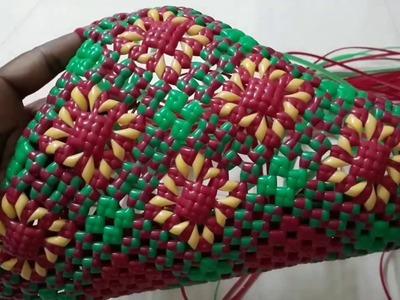 DIY- Wire bag - Mery Gold (சாமந்தி பூ) bag Demo 1.5 First Time N Youtube