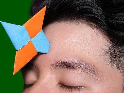 Easy Origami #Ninja Stars 4 points - How to make