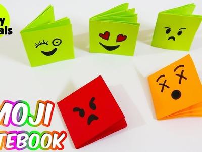 Emoji Notebook - DIY Mini Notebooks From One Sheet Of Paper | DIY BACK TO SCHOOL