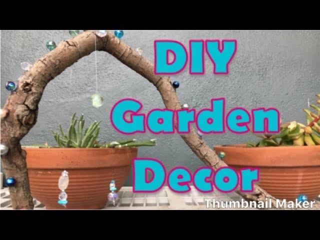 Enchanted DIY Garden Decor