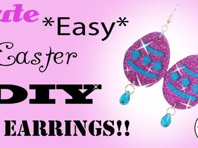 Epic DIY Darling Easter Earrings *Unbelievably Easy* COME SEE!!
