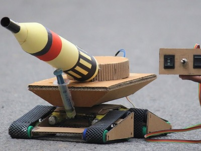 How to make a cannon - Cardboard DIY