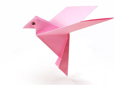 How to Make a Paper Bird - Origami Paper Crafts 1101