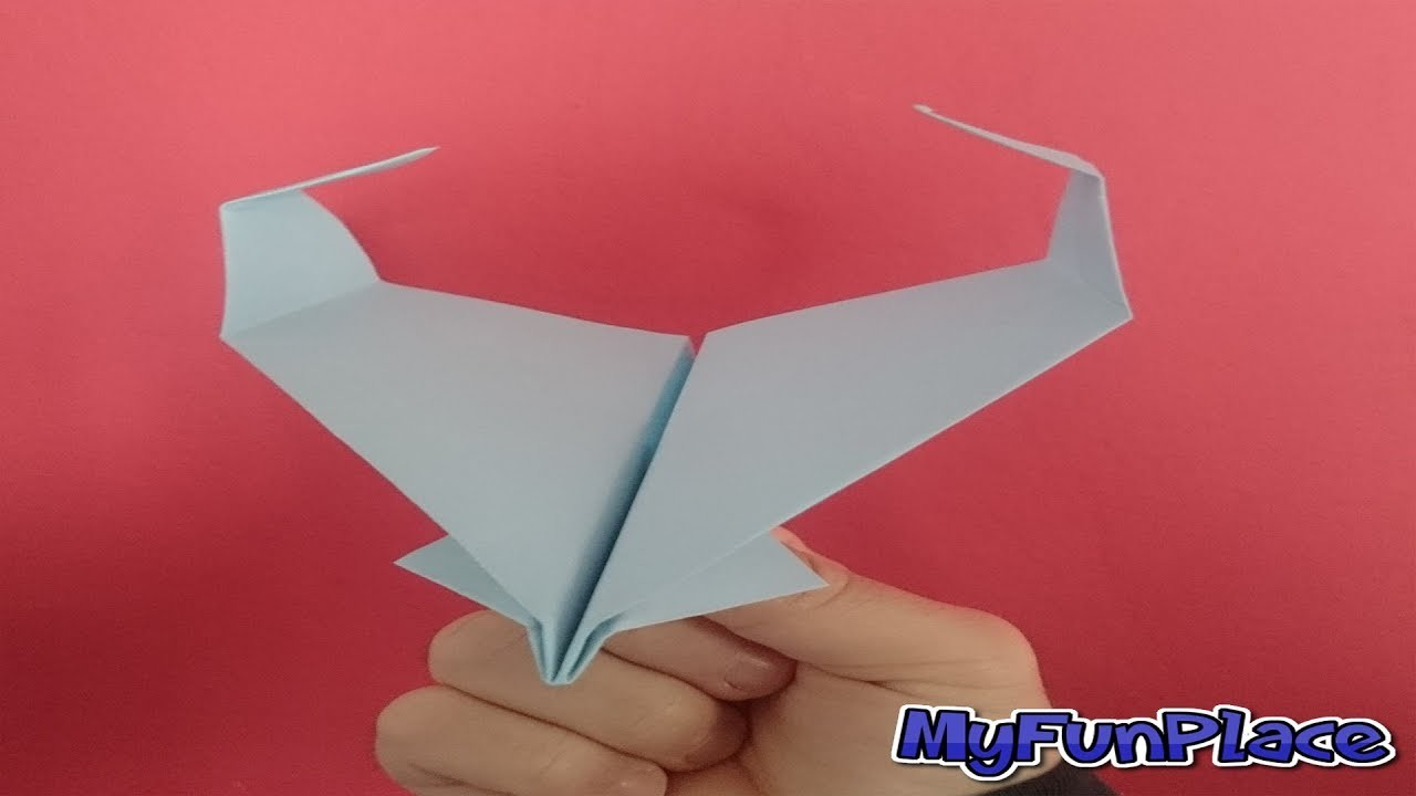 How To Make A Super Sonic Paper Airplane