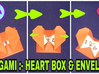 Make a Paper Heart Box To Show Your Love - Jennifer Maker | 300x400