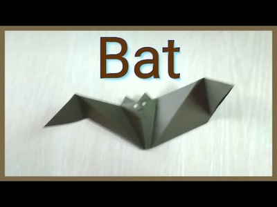 How to make Paper Batman that flapping origami crafts