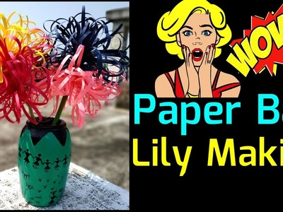 Learn To Make Amazing Ball Lily Flower Step By Step || Amazing DIY Craft Ideas!