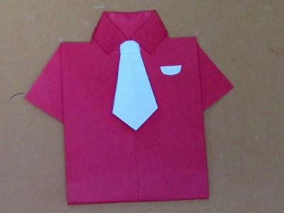HOW TO FOLD AN ORIGAMI SHIRT. — Gathering Beauty | 300x400