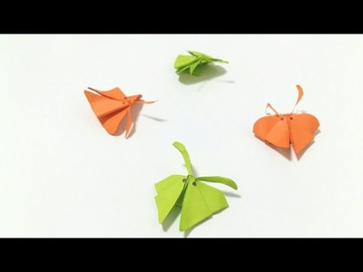Origami crafts: Learn to Fold Paper Flying Butterfly #06