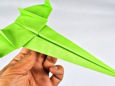 Origami Plane|How to make a paper airplane that Flies-Secret Bomber|Star war Plane|Stop Motion Lover