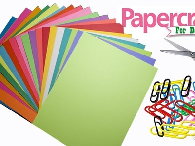 Paper crafts for home decoration ideas at home   DIY Paper Crafts for Decoration