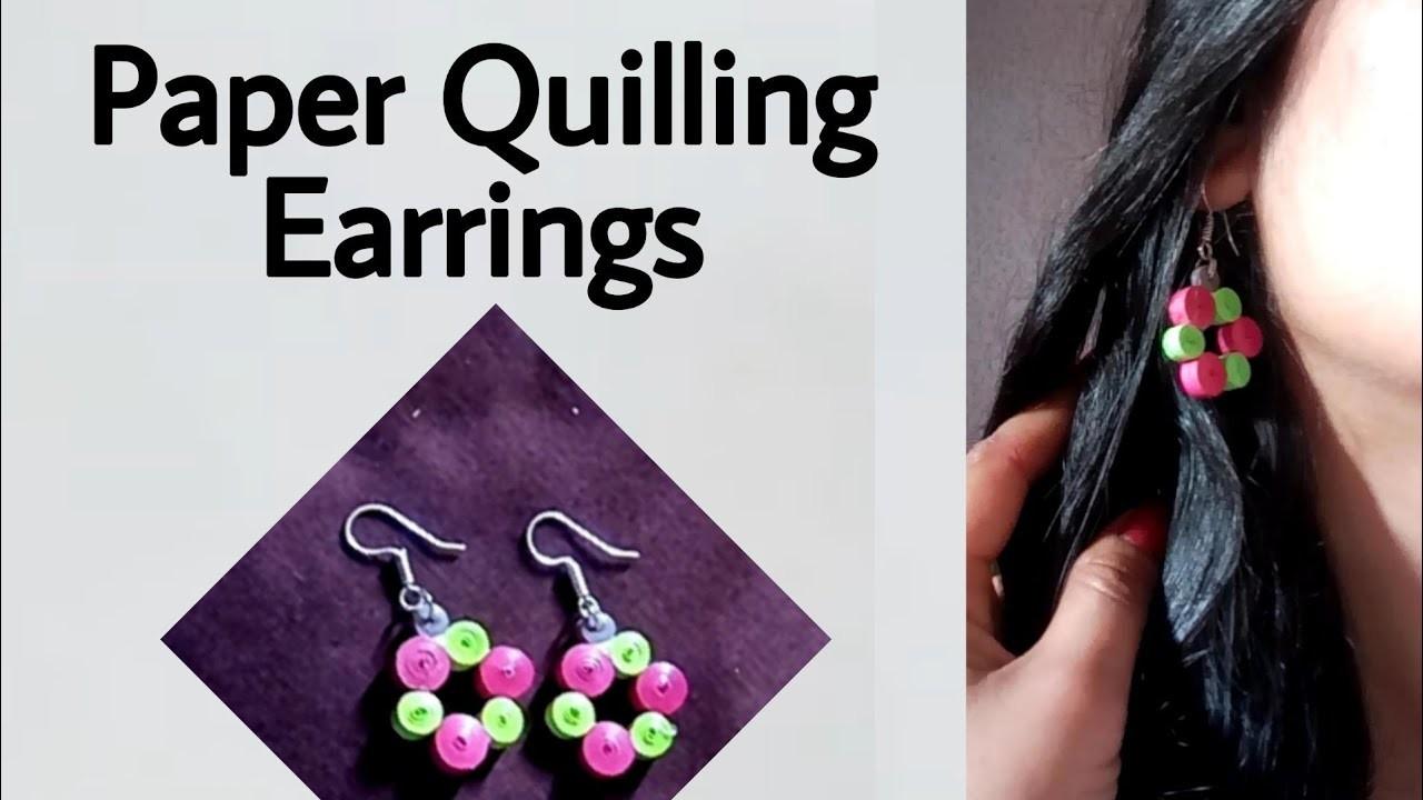 Paper Quilling Earrings (Girly DIY)
