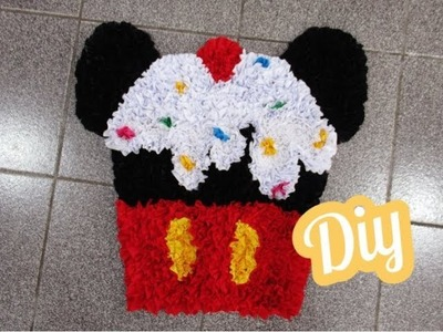 Tapete Cupcake Mickey  ???? DIY - Doormat - Mickey Mouse mouse pad ???? Alfombra Cupcake Mickey