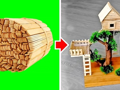TRY THIS AT HOME: 4 EASY & CREATIVE DIY IDEAS FROM POPSICLE STICKS