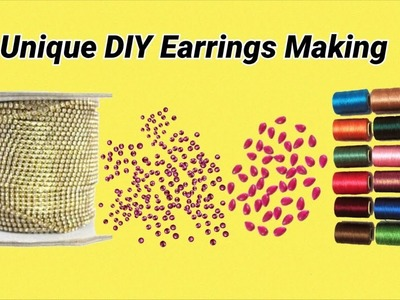 Unique DIY Earrings Making At Home